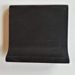 Ref : PLINTHE A GORGE NOIR  10x10