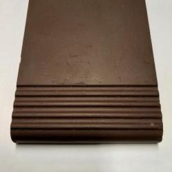 Ref : MARCHE STRIEE PORPHYRE CHOCOLAT  10x12