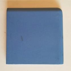 Ref : ANGLE DE PLINTHE PORPHYRE BLEU  10x10