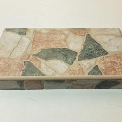Ref : REBORD AGORA VERDE 16,5x33,3x5,8