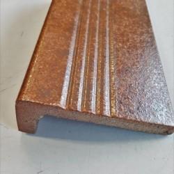 Ref : REBORD STRIE N° 951 TABAC RUSTIQUE 11,5x24x5,4