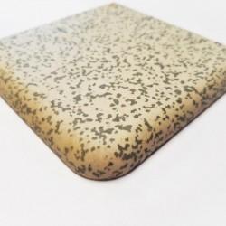 Ref : ANGLE DE PLINTHE PORPHYRE MOUCHETE GRIS 10x10