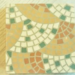 Ref : FLEUR MOSAIQUE  12,5x12,5