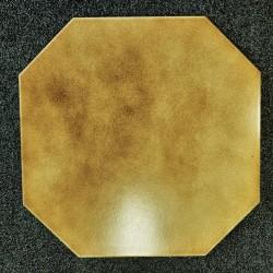 Ref : OCTOGONE BRUN  31x33,5