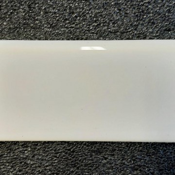 Ref : PLINTHE BLANCHE  7,5x15