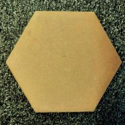 Ref : HEXAGONE FUME BEIGE  10x11,5