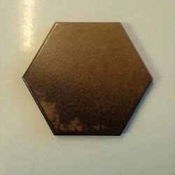 Ref : HEXAGONE CHENE FONCE  10x10
