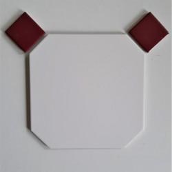 OCTOGONE N° 5010  20x20 + CABOCHONS 4,8x4,8